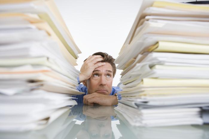 Dor na procura de documentos